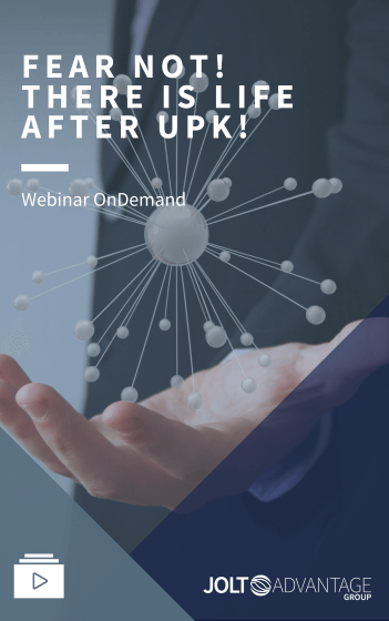 Webinar - Fear not there is life after UPK - Cover