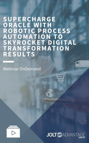 Webinar Cover - supercharge oracle with RPA